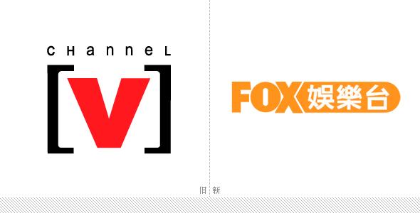 Channel [V]更名为FOX娱乐台启用新台标