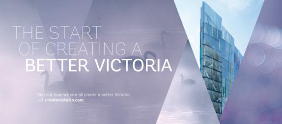 victoria application 01 伦敦市中心的维多利亚区品牌形象设计