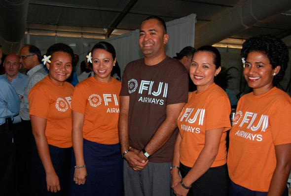 """斐济太平洋航空更名""""斐济航空""""启用新Logo"""