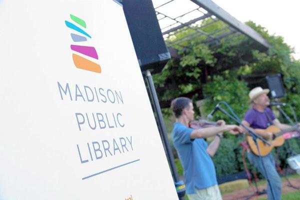 Madison Public Library logo 3 美国威斯康星州麦迪逊公共图书馆新Logo