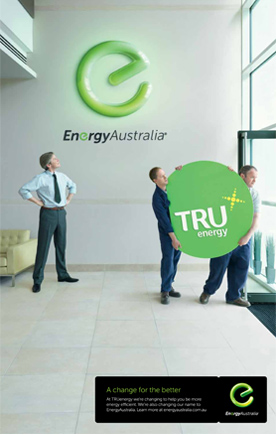 Energy Australia printad 澳大利亚能源公司发布合并后新Logo