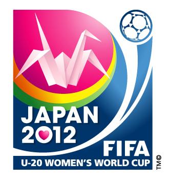 japan 2012 logo 2012年U20女足世界杯官方会徽、口号、海报