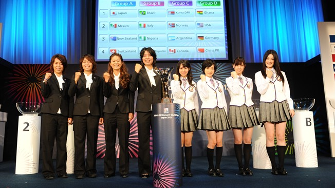 Japan 2012 Official slogan 2012年U20女足世界杯官方会徽、口号、海报