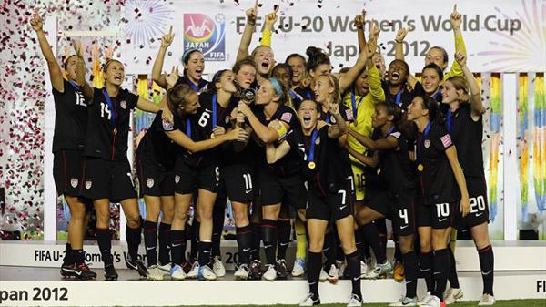 Japan 2012 usa 2012年U20女足世界杯官方会徽、口号、海报