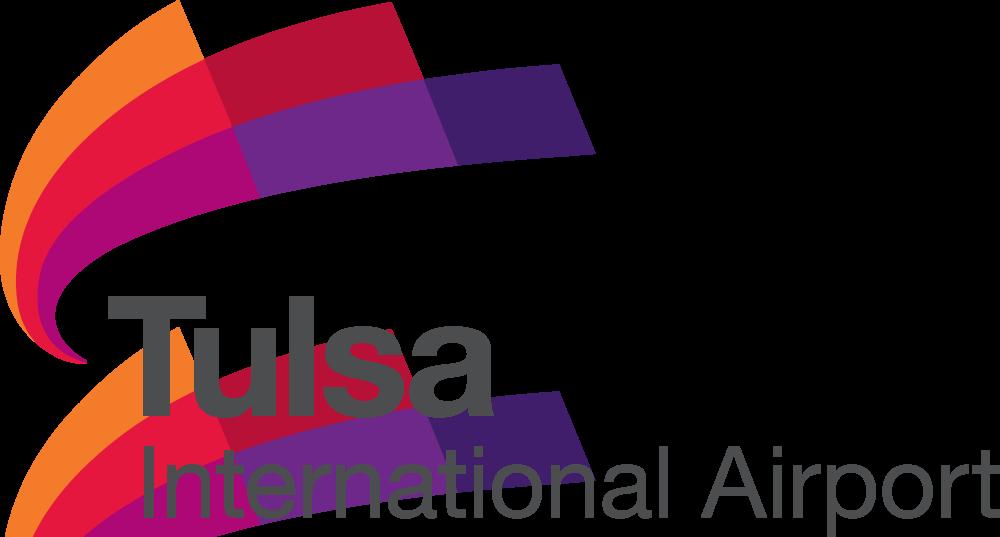 Tulsa International Airport logo 美国塔尔萨国际机场启用新Logo
