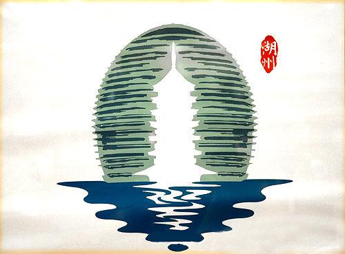 huzhou logo 浙江湖州城市形象标识揭晓