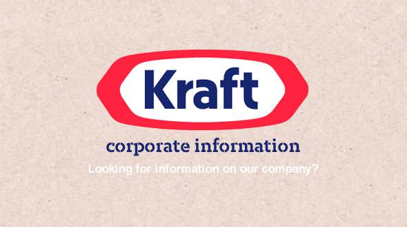 卡夫食品(Kraft Foods)推出全新Logo