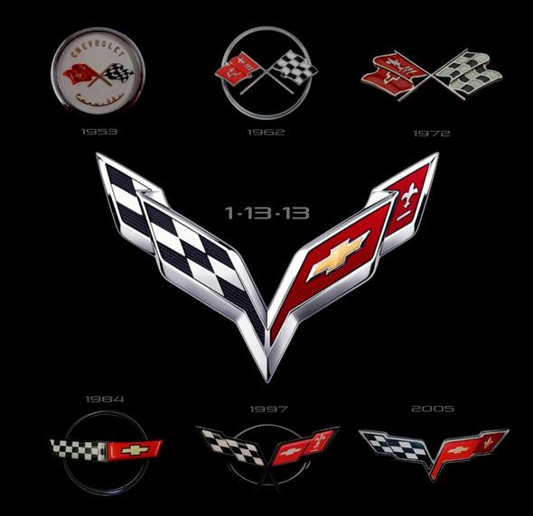 雪佛兰新克尔维特C7标志发布