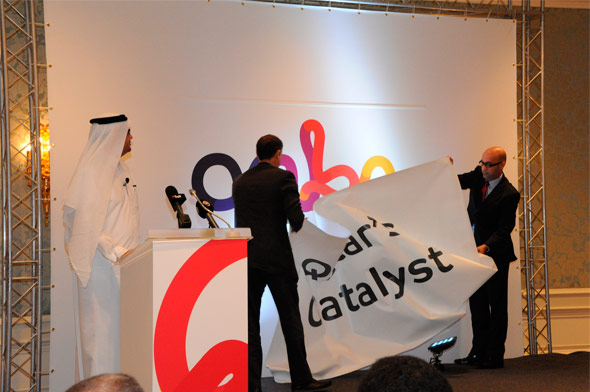 卡塔尔国家宽带网络(Qnbn)公司新Logo