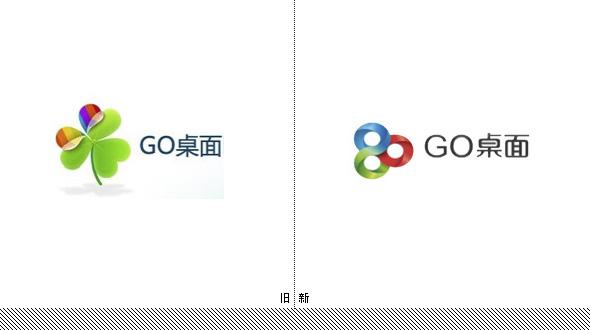 """手机桌面软件""""GO桌面""""新LOGO"""