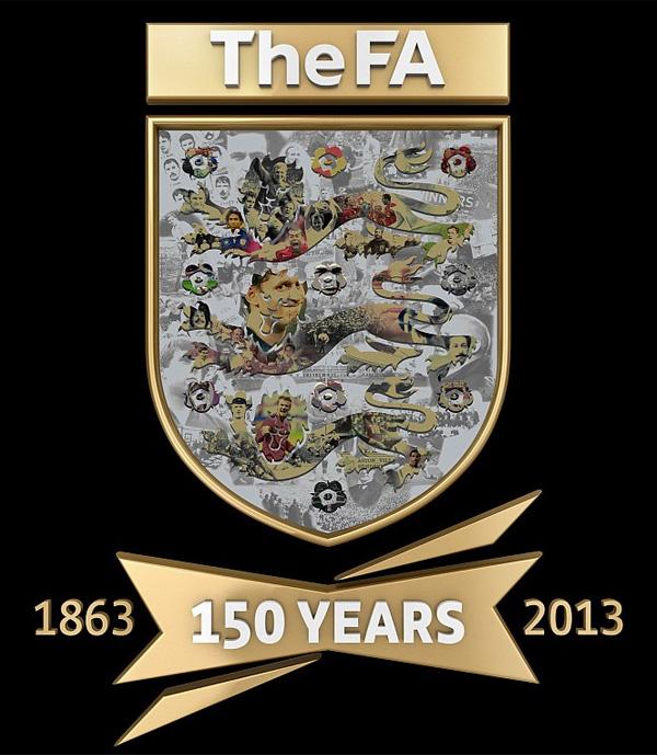 英格兰足总杯(FA Cup)150周年纪念标志发布