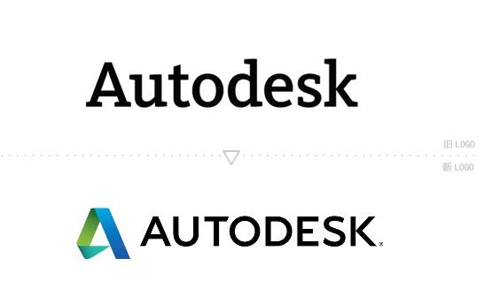 autodesk logo 著名设计软件提供商Autodesk(欧特克)启用新Logo