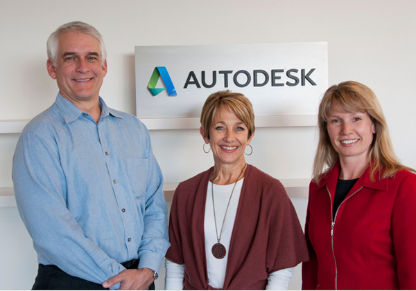 autodesk new logo 2 著名设计软件提供商Autodesk(欧特克)启用新Logo