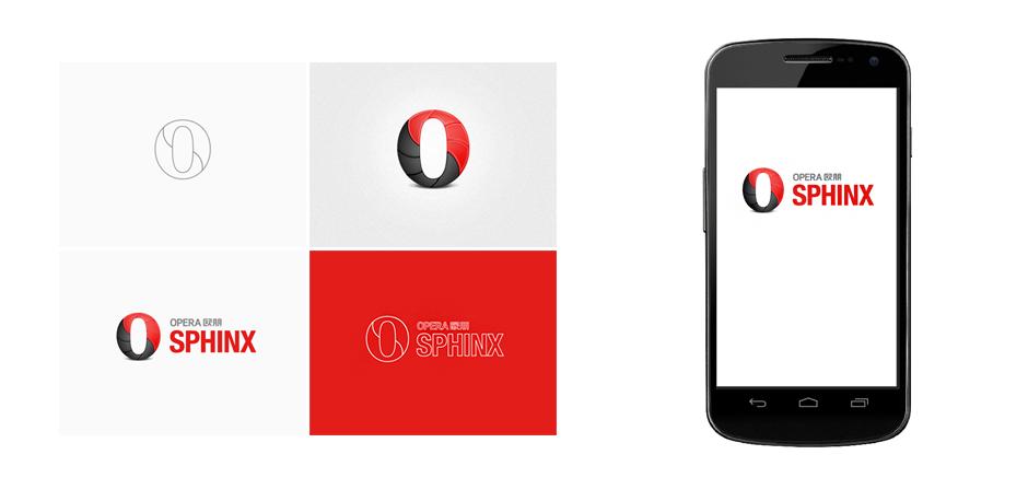 Opera Sphinx Opera Sphinx HTML5游戏引擎品牌Logo设计
