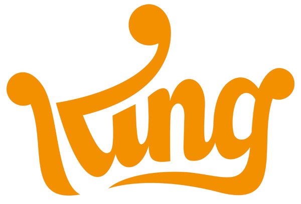 欧洲休闲社交游戏开发商King启用新LOGO