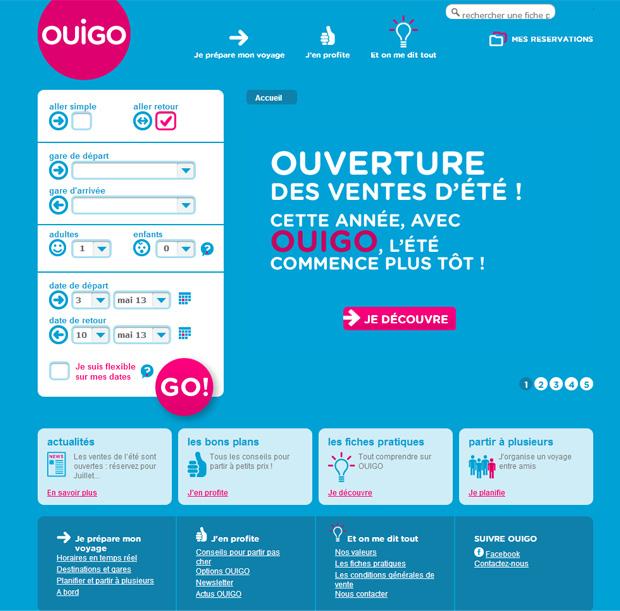 法国廉价高铁Ouigo形象设计