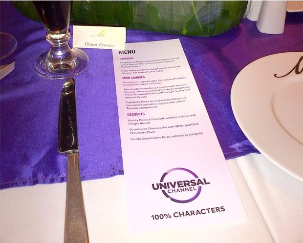 Universal Channel频道新Logo和新口号