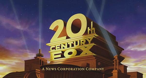 Logo 20th century fox 新闻集团子公司更名为21世纪福克斯 发布Logo
