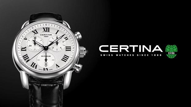 瑞士腕表品牌 Certina(雪铁纳)新Logo