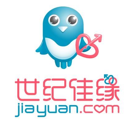 jiayuan new logo 知名婚恋交友网站世纪佳缘启用新LOGO和吉祥物