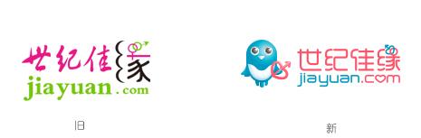 jiayuan new logo 3 知名婚恋交友网站世纪佳缘启用新LOGO和吉祥物