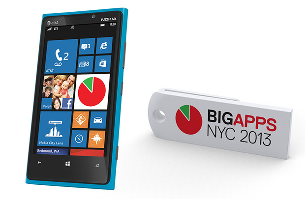2013年纽约BigApps移动应用大赛Logo
