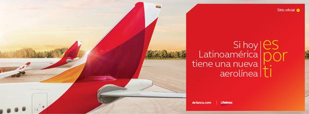 Avianca航空公司新标志
