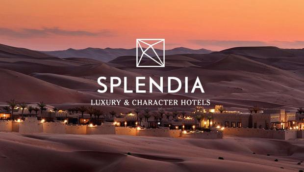 高档酒店在线预订品牌Splendia启用新标志