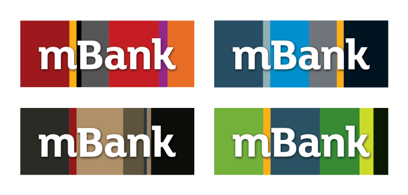 mBank new logo 2 波兰BRE银行网上银行服务mBank启用新Logo