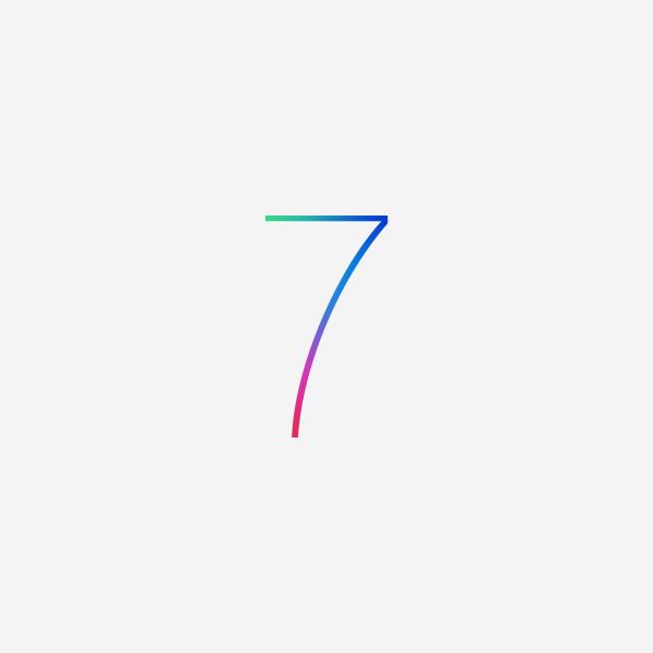 ios 7 wallpaper iOS 7与OS X 10.9新Logo现身WWDC展会