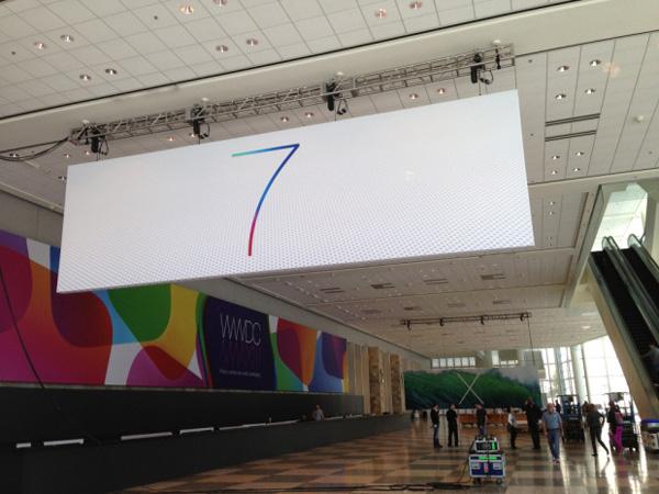ios 7 logo 3 iOS 7与OS X 10.9新Logo现身WWDC展会