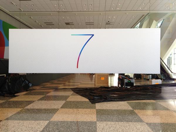 ios 7 logo 4 iOS 7与OS X 10.9新Logo现身WWDC展会