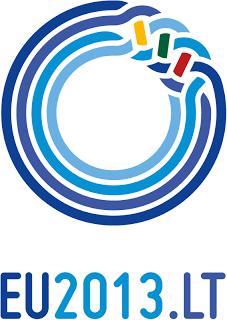 lithuania eu2013 logo 1 立陶宛担任2013年下半年欧盟轮值主席国标识