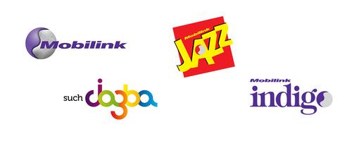 Mobillink old brands 巴基斯坦最大移动电信运营商Mobilink新Logo