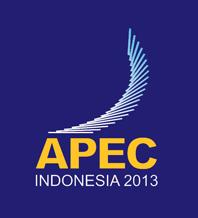 apec 2013 logo 1 印尼2013年亚太经合组织(APEC)会议Logo