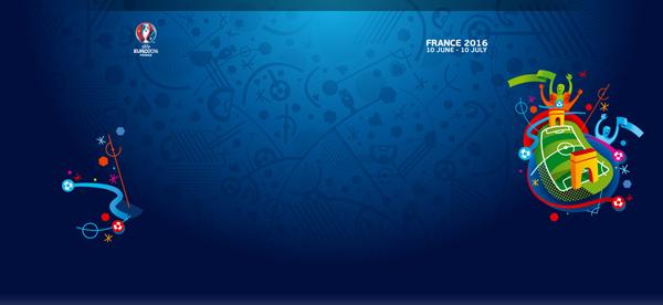 EURO2016 logo 4 2016年法国欧洲杯会徽发布
