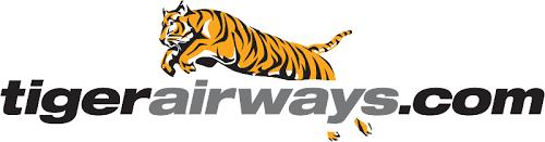 "Tiger Airways logo 新加坡老虎航空公司简名""Tigerair""启用新Logo"