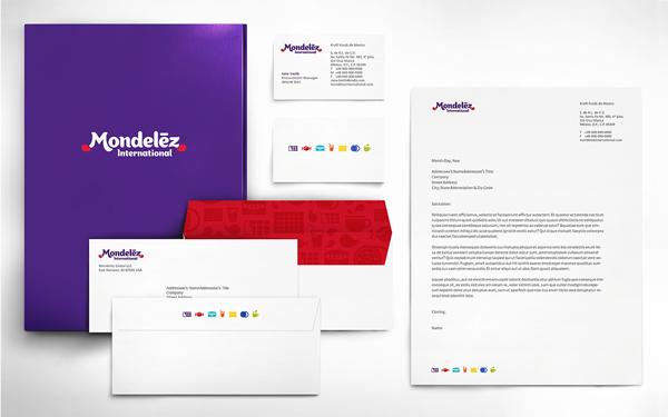 "Mondelez design case 5 卡夫食品分拆公司""亿滋国际""企业形象设计案例"