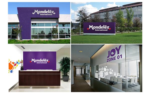 "Mondelez design case 8 卡夫食品分拆公司""亿滋国际""企业形象设计案例"