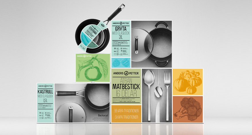 Anders Petter logo 5 瑞典厨具品牌Anders Petter启用新Logo