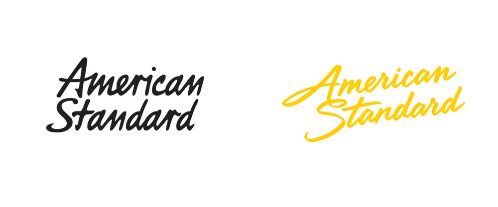 american standard logo 著名卫浴品牌American Standard(美标)新Logo