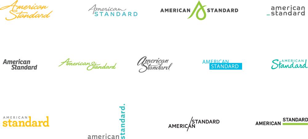 american standard 01 AS logo exploratory 著名卫浴品牌American Standard(美标)新Logo