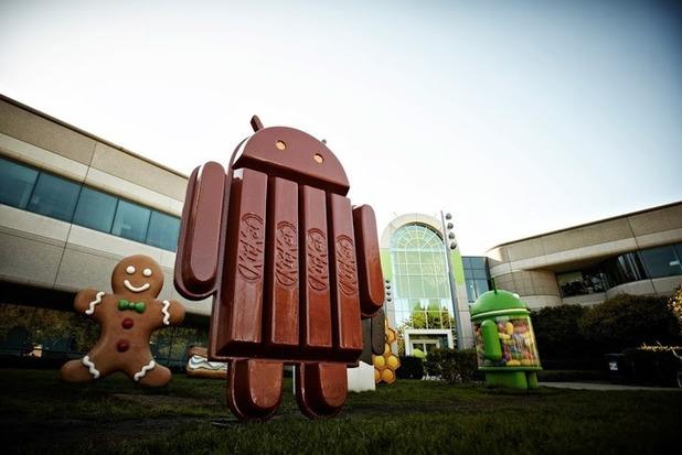 android kitkat logo 3 标志:Android 4.4开发代号为雀巢的KitKat