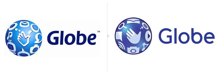 globe telecom logo 菲律宾第二大移动运营商Globe电信新Logo