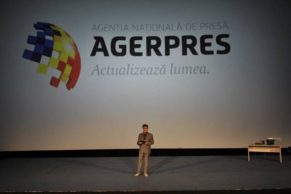 agerpres new logo 6 罗马尼亚国家通讯社Agerpres启用新Logo