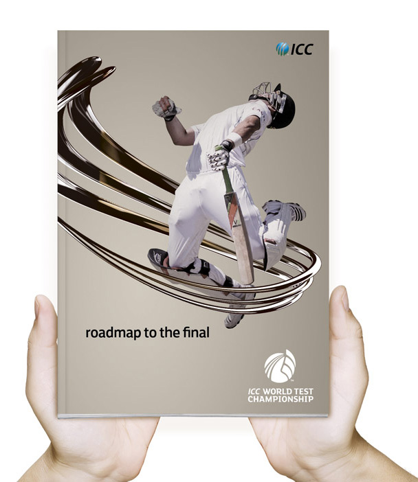 icc world test championship brochure ICC世界板球对抗赛锦标赛会徽
