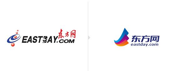 logo eastday 东方网改版 全新LOGO亮相