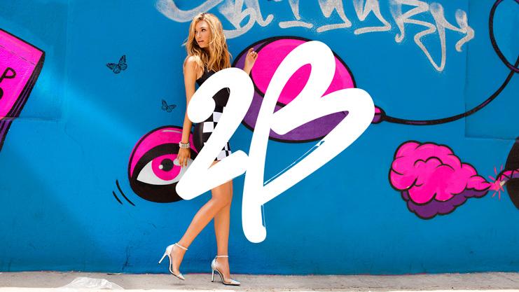 "2b bebe detail 美国知名女装零售商碧碧旗下品牌""2b""新Logo"