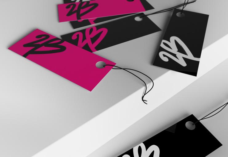 "2b bebe tags 美国知名女装零售商碧碧旗下品牌""2b""新Logo"