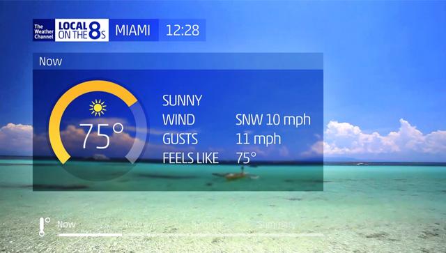 美国天气频道(The Weather Channel)启用全新的频道包装